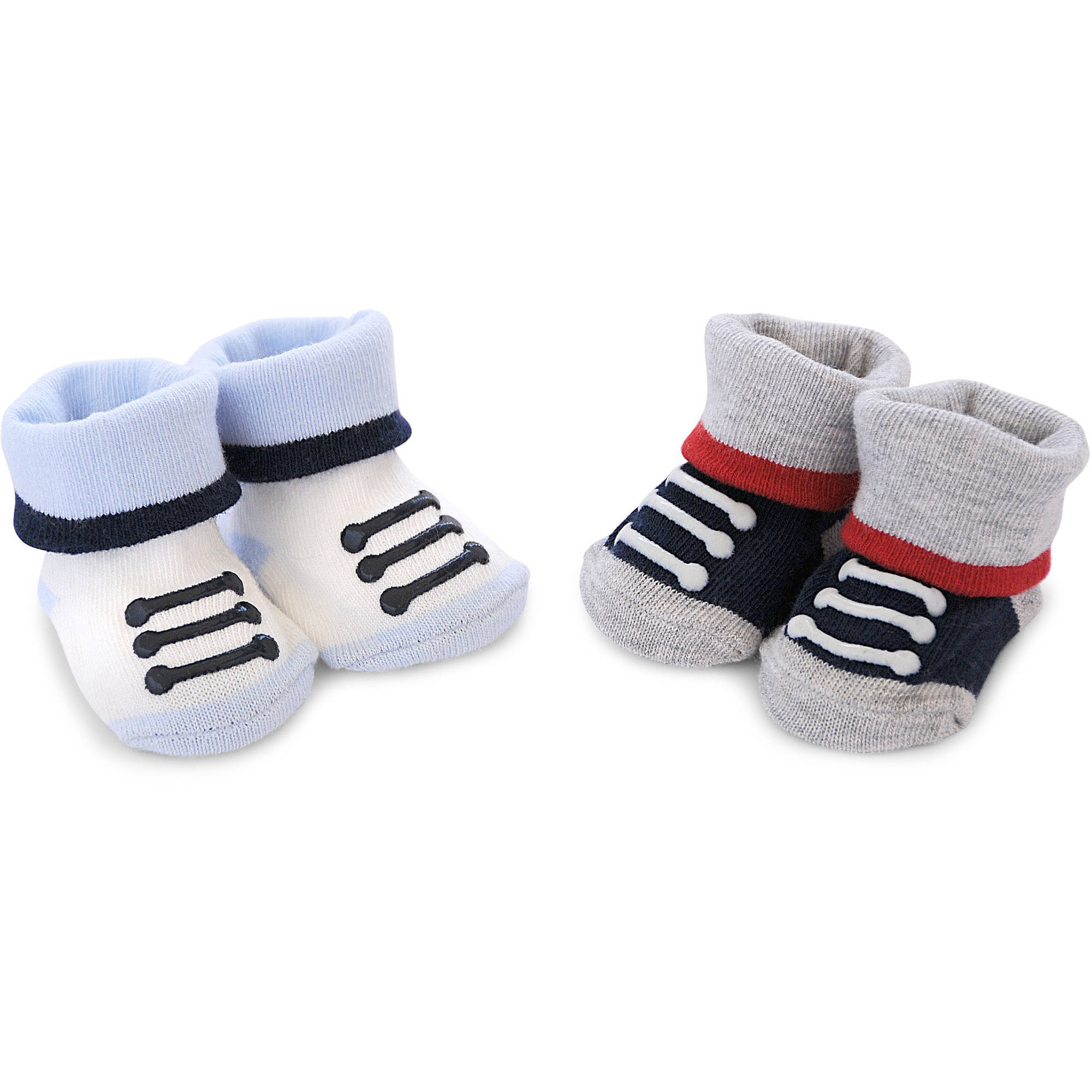 Child of Mine by Carter's Newborn Baby Boy Keepsakes Laces, 2 Pack