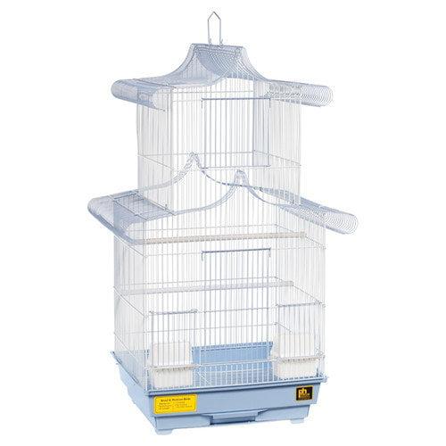 Prevue Pet Products PR18205 Pagoda Cockatiel Cage, 20X 17 X 32