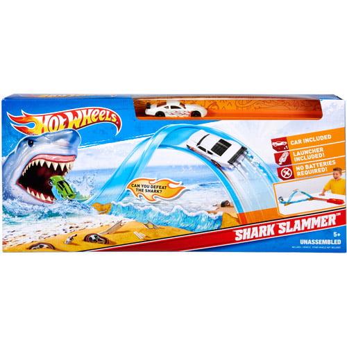 Hot Wheels Shark Slammer Play Set