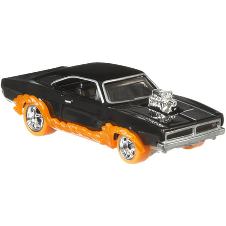 Hot Wheels Pop Culture 1:64 Scale Ghost Rider Charger (Ghost Rider Toys)