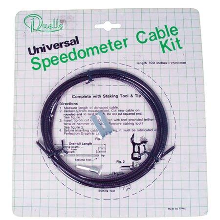 Sports Parts Inc 92-154 Speedometer Cable Universal (Genuine Part Speedometer)