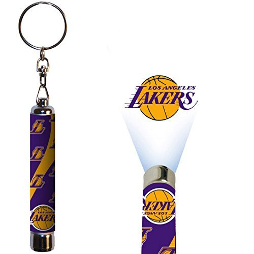 Los Angeles Lakers Official NBA  Logo Projection Key Chain by Evergreen