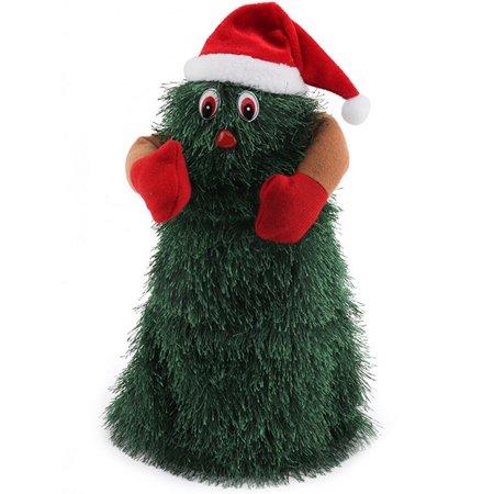 Electric Rotating Dancing Singing Christmas Tree Toys Xmas Santa Reindeer Gift ()