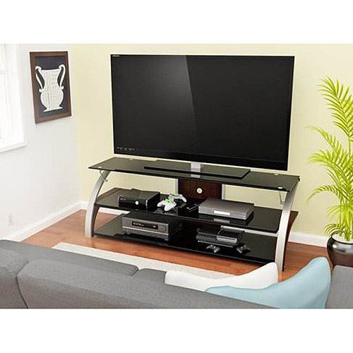 "Spade Television Stand for TVs up to 40"", Black"