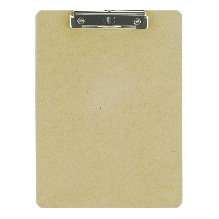 Officemate Recycled Wood Clipboard, Letter Size, Low Profile Clip, 9 x 12.5 Inches (83219)