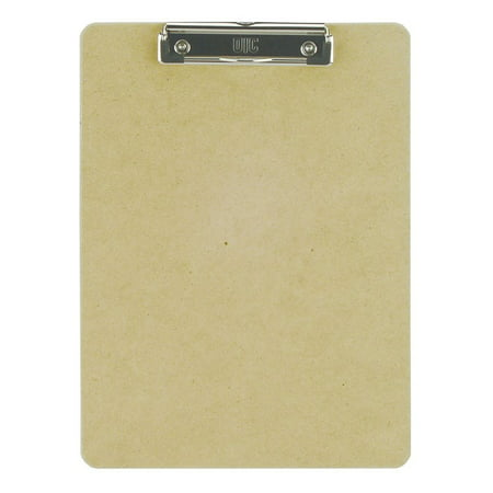 Officemate Recycled Wood Clipboard, Letter Size, Low Profile Clip, 9 x 12.5 Inches (83219) - Clap Boards