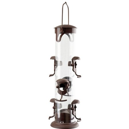 Red Carpet Studios LTD Six Station Tube Bird Feeder