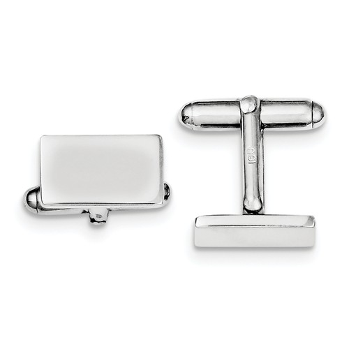 Sterling Silver Engravable and Cuff Links