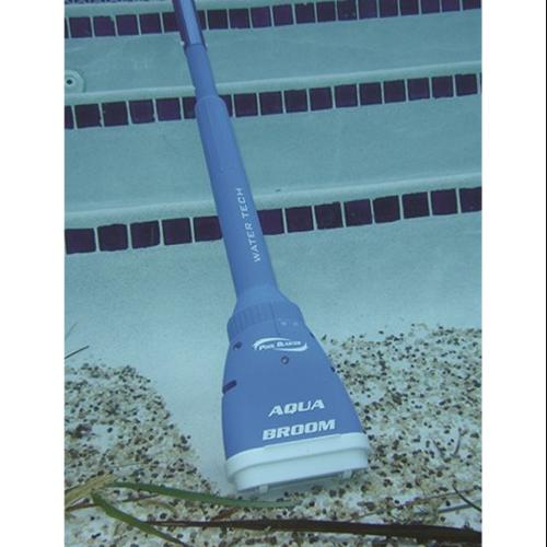 Water Tech Pool Blaster Aqua Broom Spa Cleaner Battery Vacuum w/ Telescopic Pole