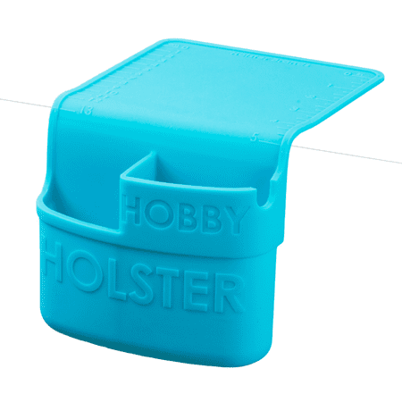 Holster Brands Hobby Hot Glue Gun Heat Resistant Silicone Holder, Craft Supply Storage Holder - Turquoise