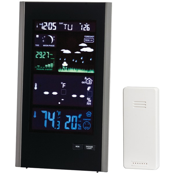Taylor 1740 Digital Color Weather Station With Usb Charger by TAYLOR(R) PRECISION PRODUCTS