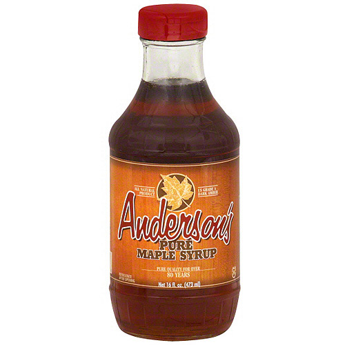 Anderson's Pure Maple Syrup, 16 oz (Pack of 6)