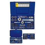 IRWIN 97606 - 66-Piece Hanson Machine Screw, Fractional and Hex Die Set