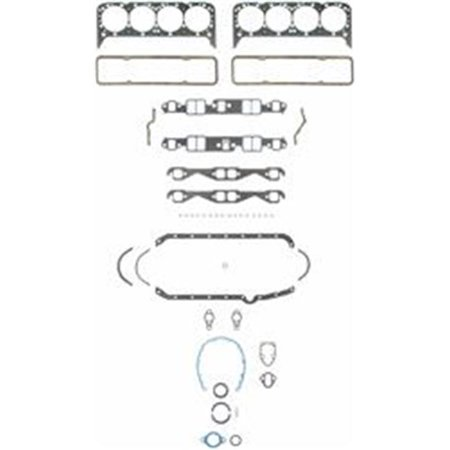 FEL PRO HP 2802 Engine Complete Gasket Kit - Chevy Small