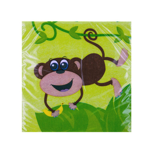 Monkey Jungle Small Napkins (20ct)
