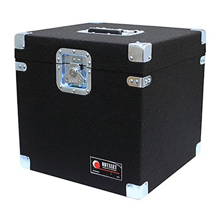 Odyssey Gear Carpeted Pro Dj Case For 100 12 Inch Lp Vinyl Records   Clp100p