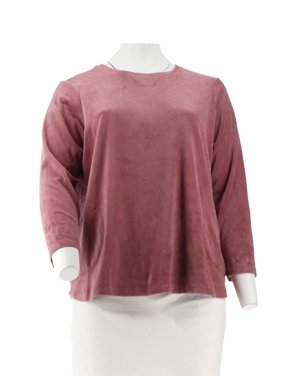 bf8a5f3ad68 Product Image Denim   Co Active Velour Tunic A260201