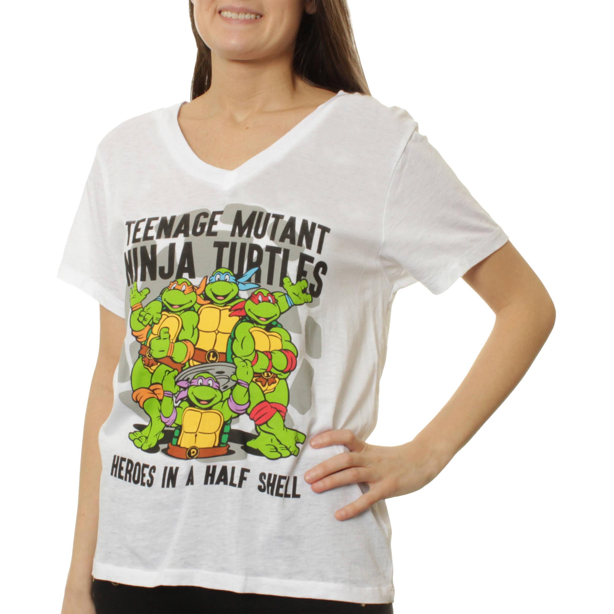 Womens Burnout Graphic T-Shirt