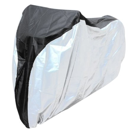 - Bicycle Hood Waterproof Anti-UV Covers 190T Polyester Taffeta Bike Shelter Dust Rain Protecor Outdoor (S)