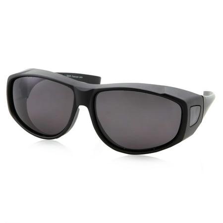 Flat Top Black Men's Sports (Top Sports Sunglasses)