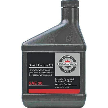 Motor Oil 30 Weight 18oz