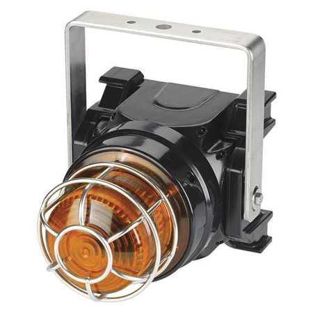 Strobe Light,Amber,Xenon,0.45A,Brckt Mnt FEDERAL SIGNAL G-STR-120-T-A