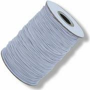 White Elastic Cord, 144 yd, Heavy