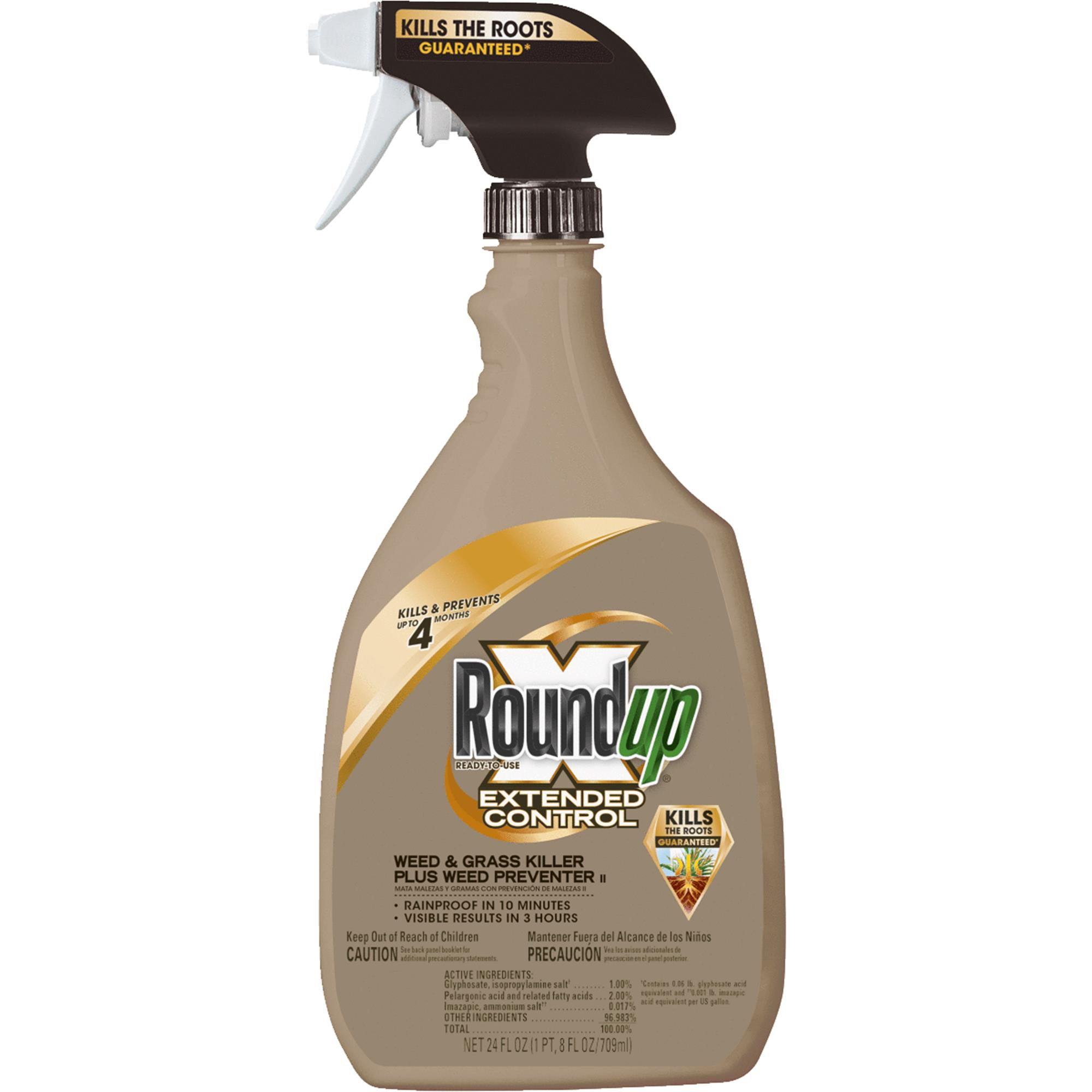 Roundup  Extended Control Plus Weed Preventer Weed & Grass Killer, 24 fl oz