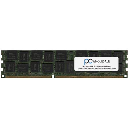 Dell A5835241 - 16GB PC3-10600 DDR3-1333 4Rx4 1.35v ECC Registered RDIMM (Third - 3rd Party Memory Module