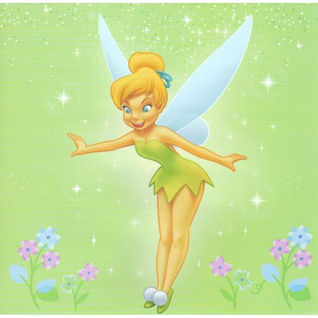 Blue Mountain Wallcoverings 12440365 Disney Tinkerbell Self-stick 44pc Wall Sticker Accent Kit (Tinkerbell Room Decor)