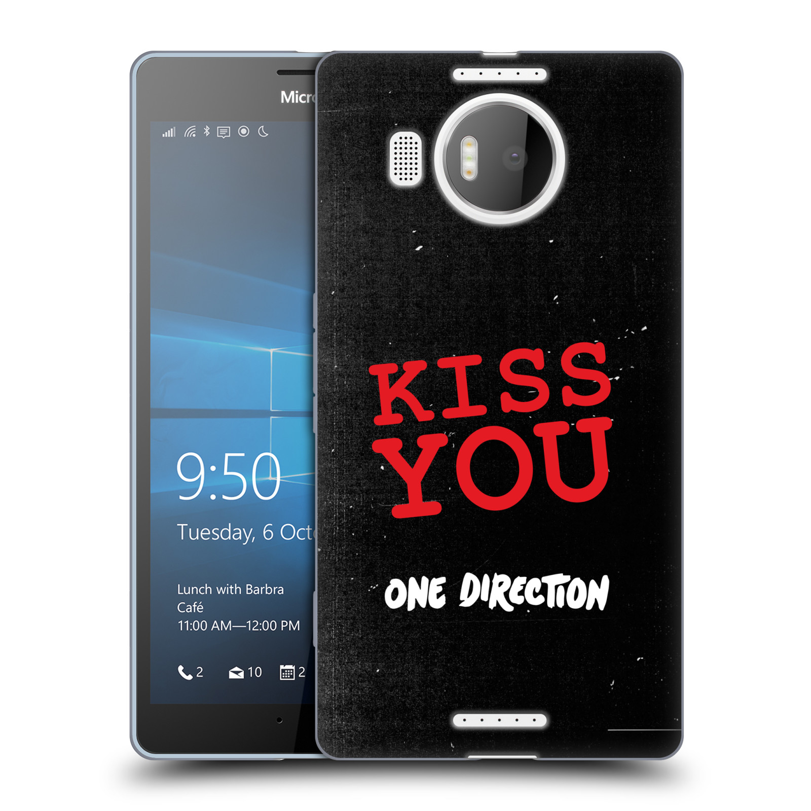 OFFICIAL ONE DIRECTION TAKE ME HOME SOFT GEL CASE FOR MICROSOFT PHONES