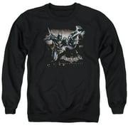 Batman Arkham Knight Grapple Mens Crewneck Sweatshirt