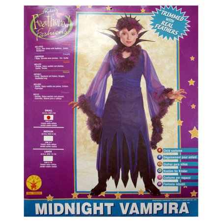Rubies Girls 'Midnight Vampira' Halloween Costume, Color, S - Vampira Halloween