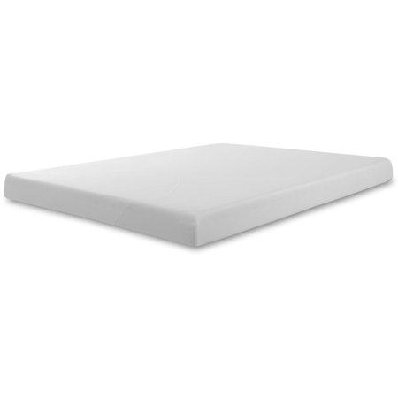 Foam Mattress Bed Pad - Spa Sensations 6'' Memory Foam Mattress, Multiple Sizes
