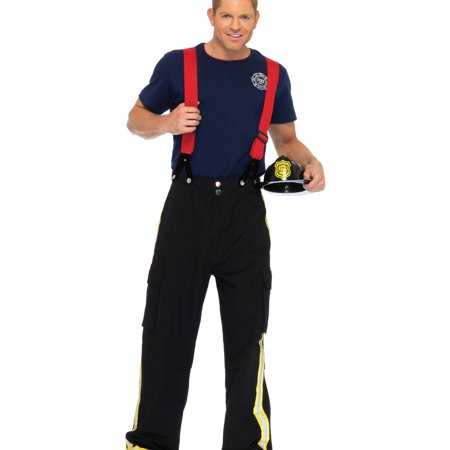 Leg Avenue Fire Captain Adult Halloween Costume - Fat Guy Halloween Costumes Ideas