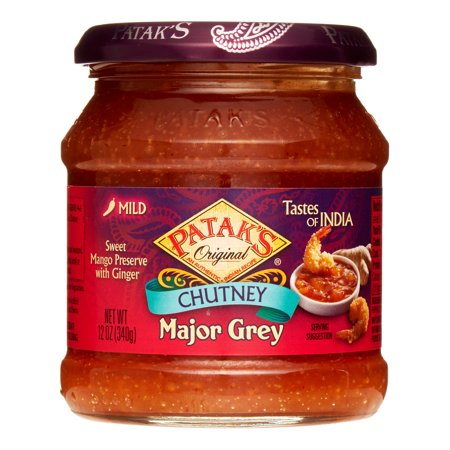 Patak's Major Grey Mango Chutney, 12-Ounce
