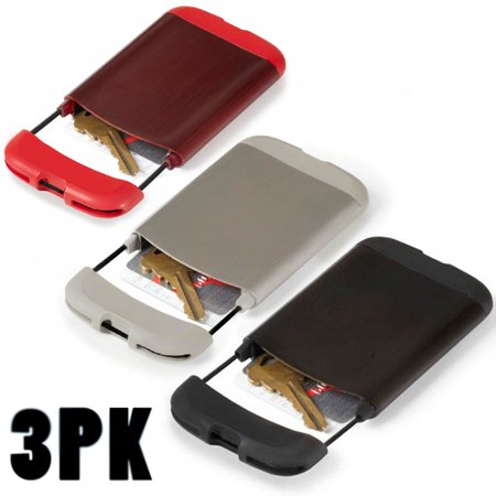 low priced f4a58 757d0 3 Pack Umbra Bungee Credit Card Case Wallet Id Holder Gym Business ...