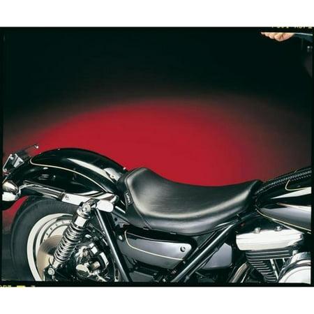 Le Pera LG-008 Bare Bones Smooth Solo Seat with Biker Gel