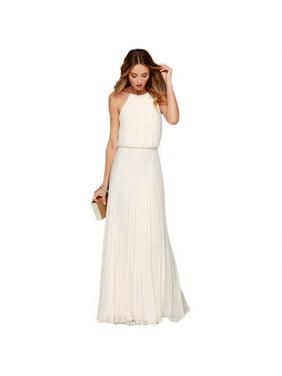 bb11e2c972 Product Image Women Formal Long Chiffon Prom Evening Party Bridesmaid  Wedding Maxi Dress Sleeveless