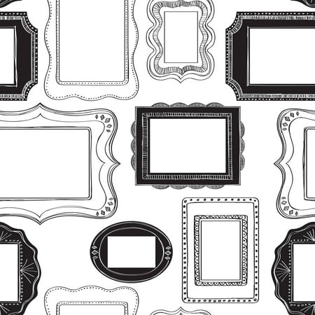 NuWallpaper Photo Opp Frames Peel & Stick Wallpaper