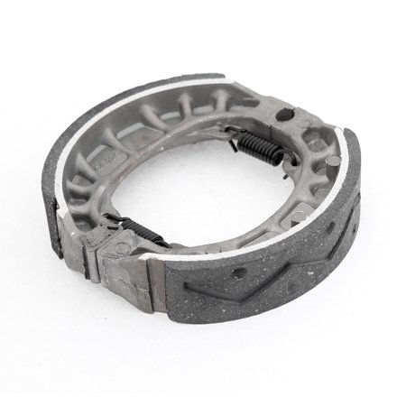 "Unique Bargains Replacing Parts Motorcycle Springs Brake Shoes 4.1"" Dia Drum Pad for  CG125"