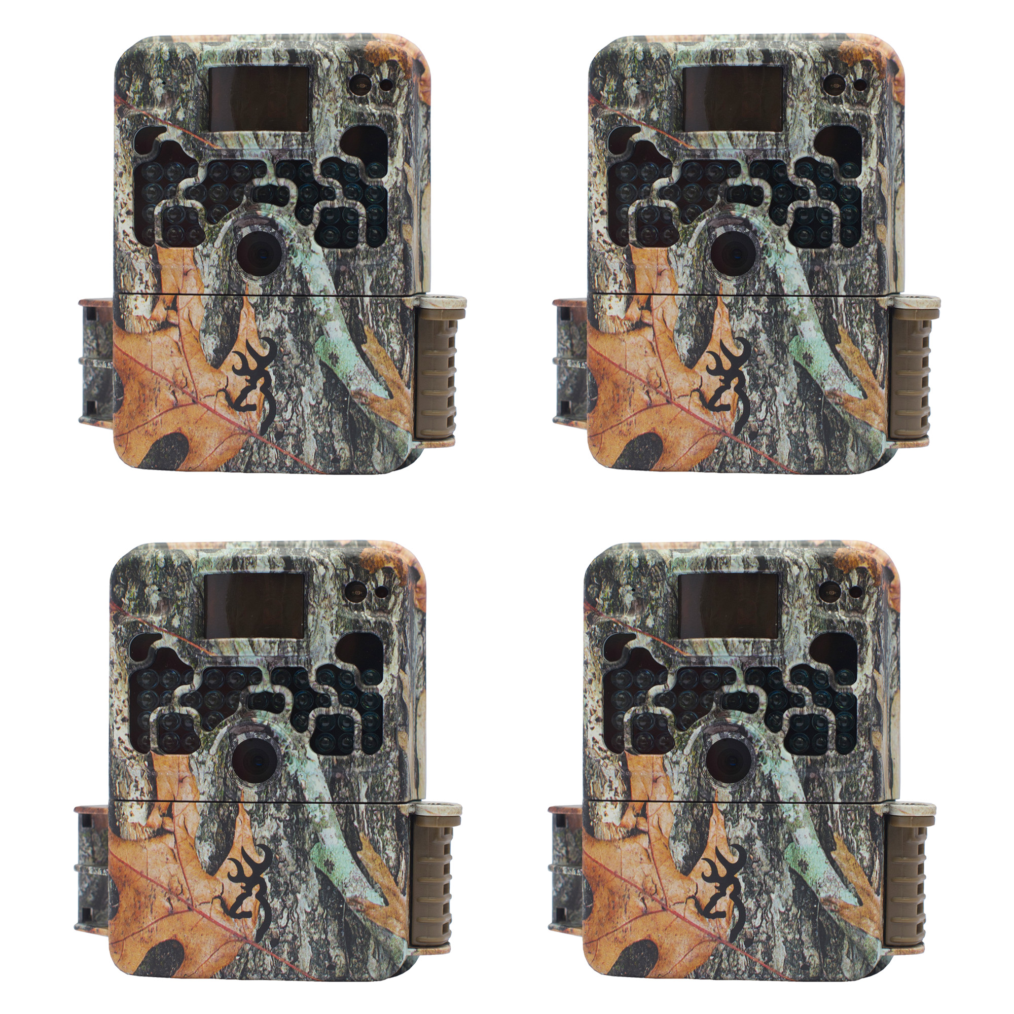 Browning Trail Cameras Strike Force 850 16MP Game Camera, 4 Pack | BTC-5HD-850 by Browning Trail Cameras