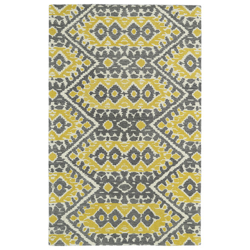 Kaleen Global Inspirations Yellow Area Rug