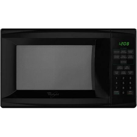 Countertop Microwave At Walmart : Whirlpool Black Compact Countertop Microwave MT4078SPB - Walmart.com