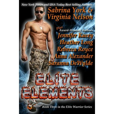 Elite Elements: Seven-Novel Cohesive Military Boxed Set - (Elements Boxed)