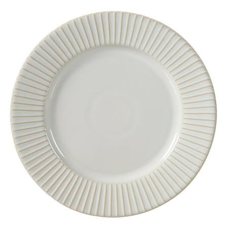 """Better Homes & Gardens 10.5"""" Striped Modern Farmhouse Dinner Plate"""