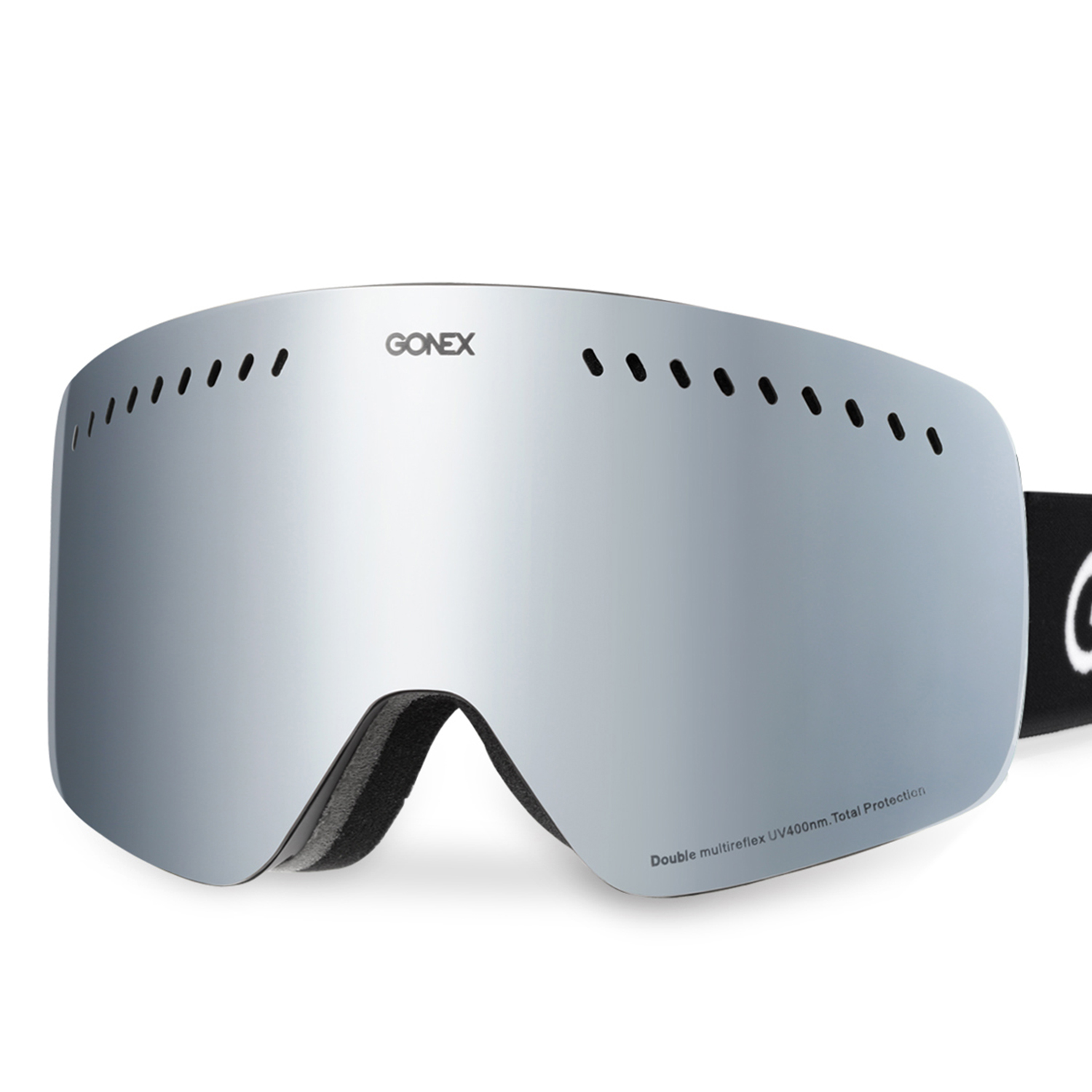 Gonex Ski Goggles Double Cylindrical Lens Anti-fog UV400 Protection for Double board skiing by Gonex