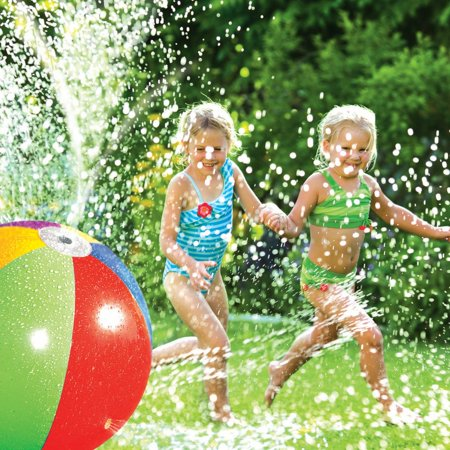 Poolmaster Splash and Spray Ball Toy for Backyards