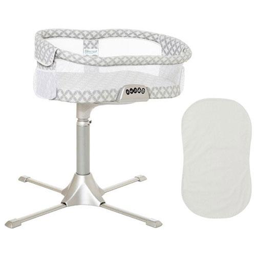 Halo Swivel Sleeper Bassinet Premiere Series Harmony Circles with 100 Cott by HALO