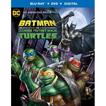 Batman Vs Teenage Mutant Ninja Turtles (Blu-Ray + DVD + Digital ) (2